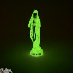 Vierge de Banneux statue fluorescente 10cm