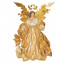 Angel gold metal and gold-colored dress