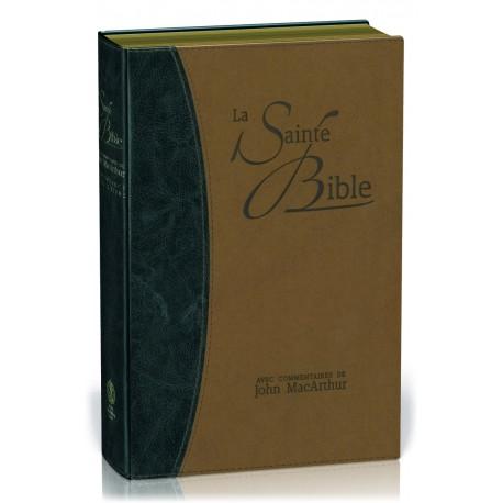 Segond NEG 1979 Bible avec commentaires de MacArthur