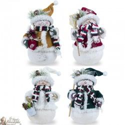 Bonhommes de neige Décoratifs - 24 Pièces