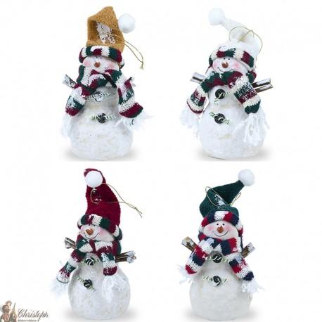 Bonhomme de neige - g - blanc