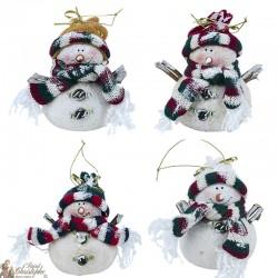 Bonhommes de neige Petit format Suspensions - 120 pièces