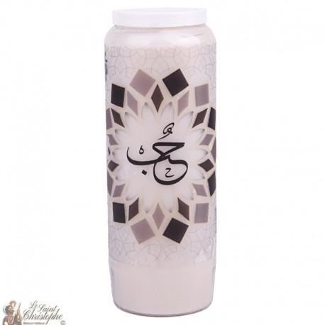 velas decorativas Love - árabe modelo 2