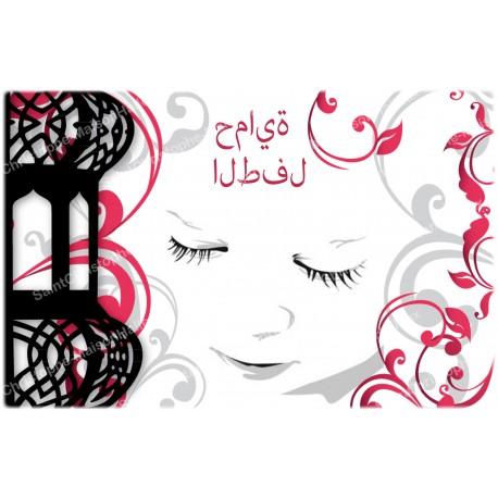 decoratieve Stikers voor Noveen Kaars  - Symbool Aum