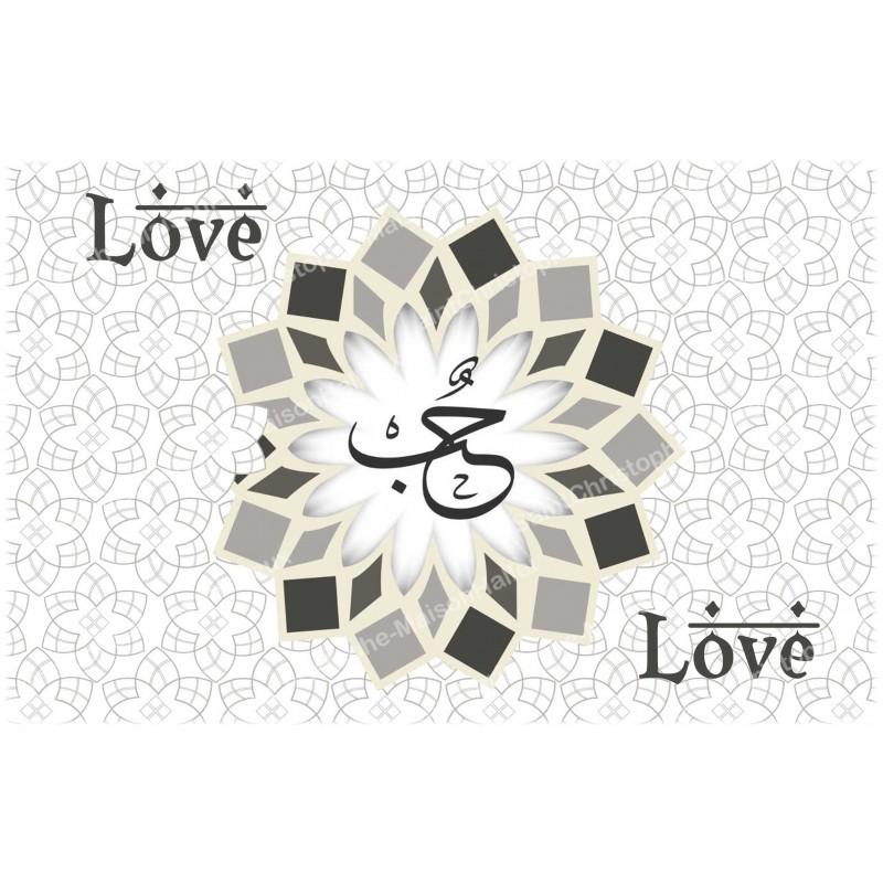 Decoratieve Stikers Voor Noveen Kaars Liefde In Het Engels