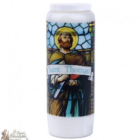 Bougies Neuvaines  à Saint Thomas - prière français
