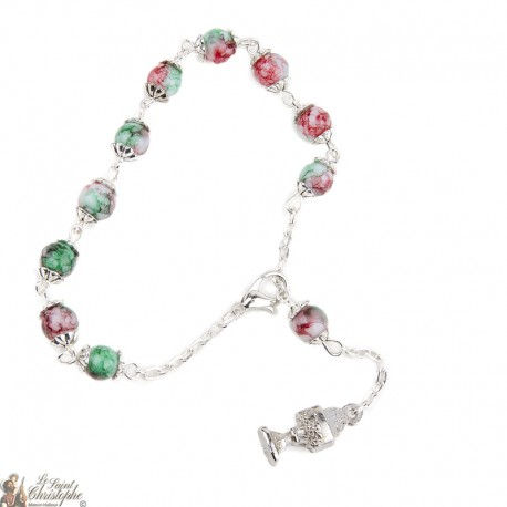Bracelet pearly pearls - hanging Chalice