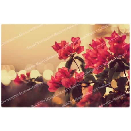 decoratieve Stikers voor Noveen Kaars  - bloemen model 1
