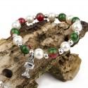 Multicolor pearl bracelet - Chalice