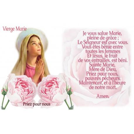 sticker with german  french prayer - Saint Thomas