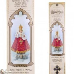 Pochette encens - Petit Jésus de Prague - 15 pces