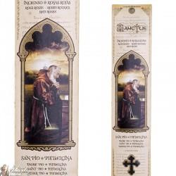 Pochette encens de Padre Pio  - 15 pces - 60 gr