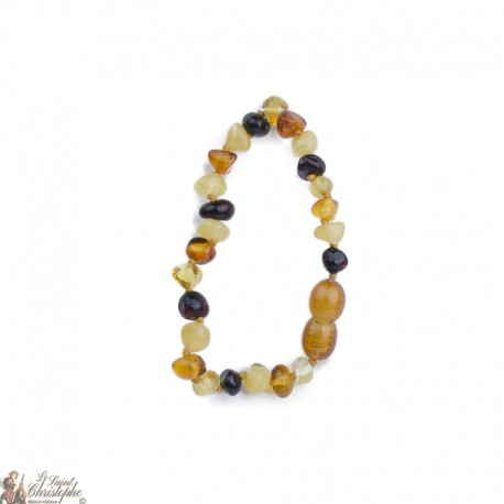 Baltic Amber Necklace for Baby