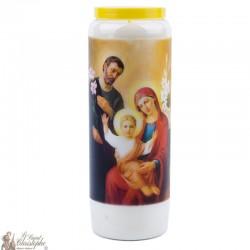 Bougies Neuvaines à Sainte Famille - prière Anglais