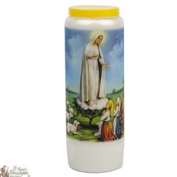 Bougies Neuvaines à Fatima - prière néerlandais