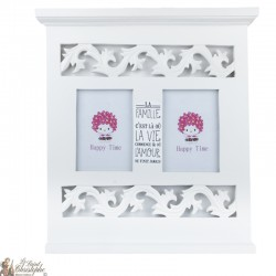 Custom White Frame - Family