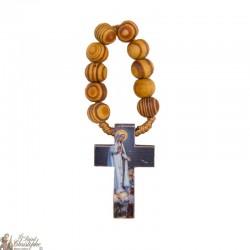 Dizainier bois d'olivier / noir à Notre-dame de Fatima