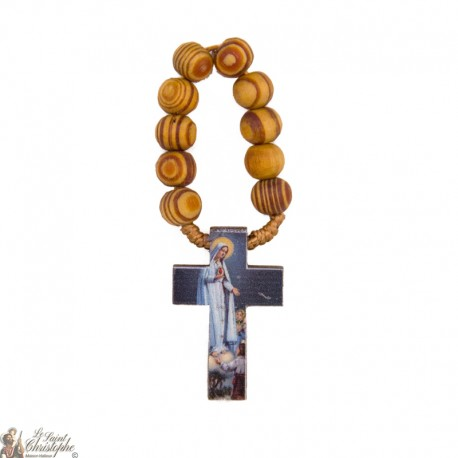 Dizainier bois d'olivier à Notre-dame de Fatima