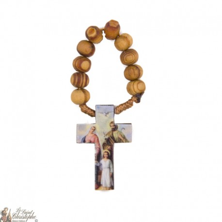 Olive wood at Holy Family